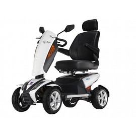 Scooter eléctrico Vita NO desmontable con Luces y asiento giratorio y regulable. Reposabrazos regulables altura y abatibles.