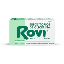 Rovi Supositorios Adulto