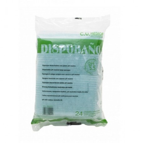 Dispobaño Esponja Jabonosa pH5.5 24u