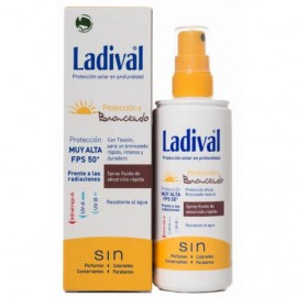 LADIVAL PROTECCION Y BRONCEADO FPS 30 SPRAY 150 ML + NECESER